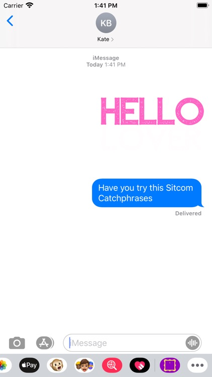 Sitcom Catch Phrases