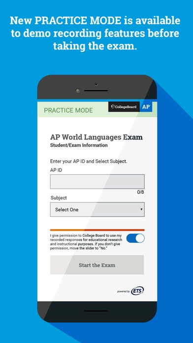 AP World Languages Exam App screenshot 4