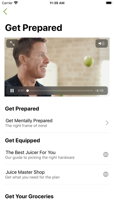 Jason Vales 7 Day Juice Diet review screenshots