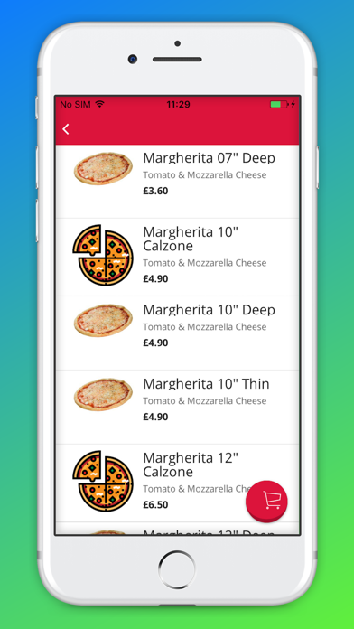 Lets Eat: Food Delivery screenshot three