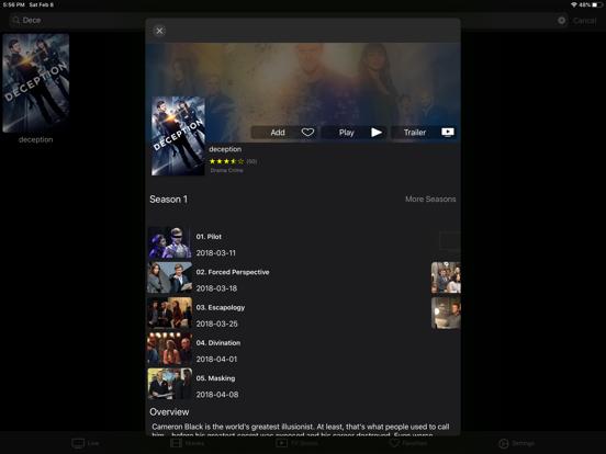 iProTV for iPtv & m3u content screenshot 14
