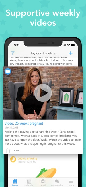 7aa5dfed307ad5 Ovia Pregnancy Tracker on the App Store