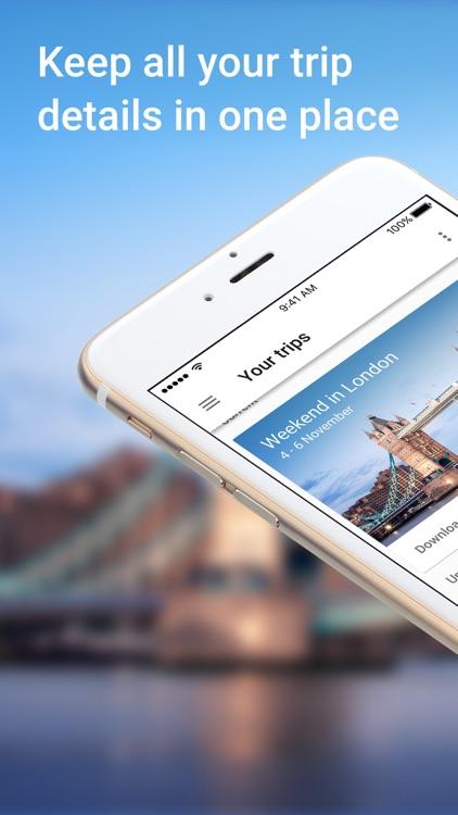 Google Trips – Plan Your Trip screenshot-0