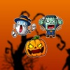 Halloween Scary Ghost Stickers