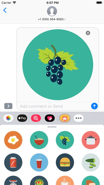 Eat Stickers screenshot-4