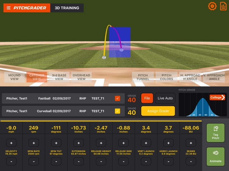 PitchGrader screenshot-1
