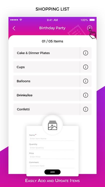 Shopping List & Reminder screenshot-3