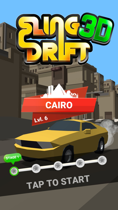 Sling Drift 3D screenshot 1