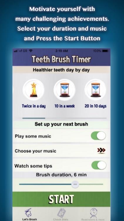 Teeth Brush Timer & Alarm screenshot-3