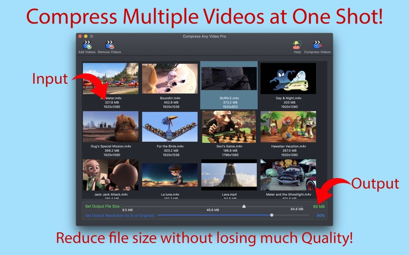 Compress Any Video Pro Screenshot