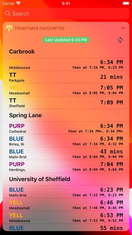 Sheffield Tram Times screenshot-4