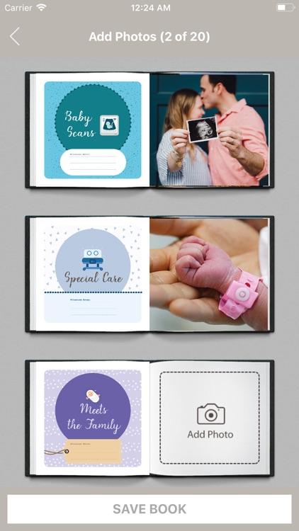 Baby Milestone Book screenshot-3