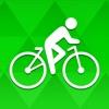 Bicycle ride tracker: bike map - iPhoneアプリ