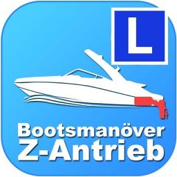 Bootsmanöver Z-Antrieb