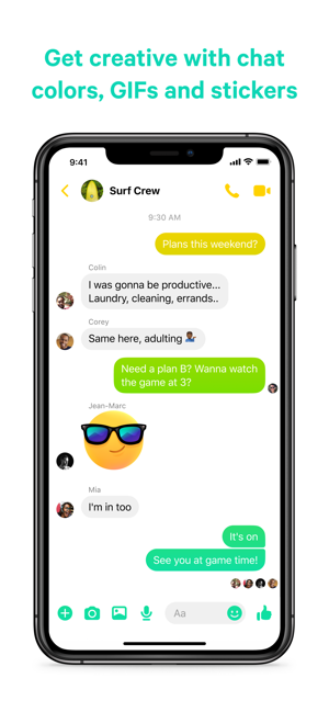 ?Messenger Screenshot