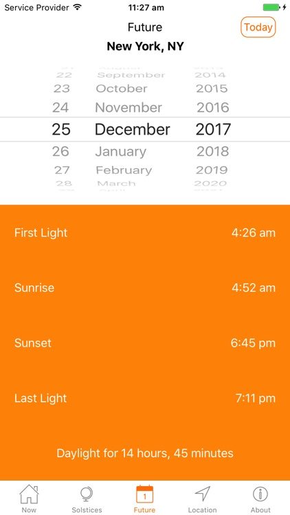 Sunrise Sunset Professional screenshot-4