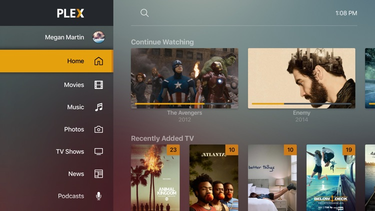 Stream your videos on Apple TV