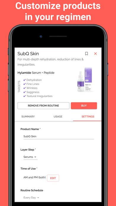 Skincare Routine Screenshot