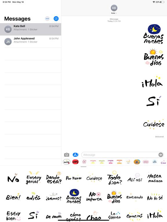 Emotional Calligraphy Spanish screenshot 5