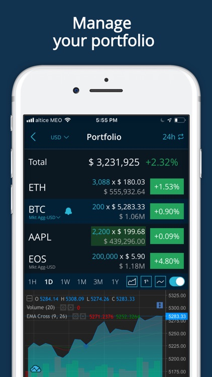 HODL Real-Time Cryptocurrency screenshot-4