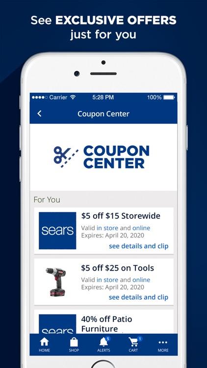 Sears – Shop smarter & save screenshot-4