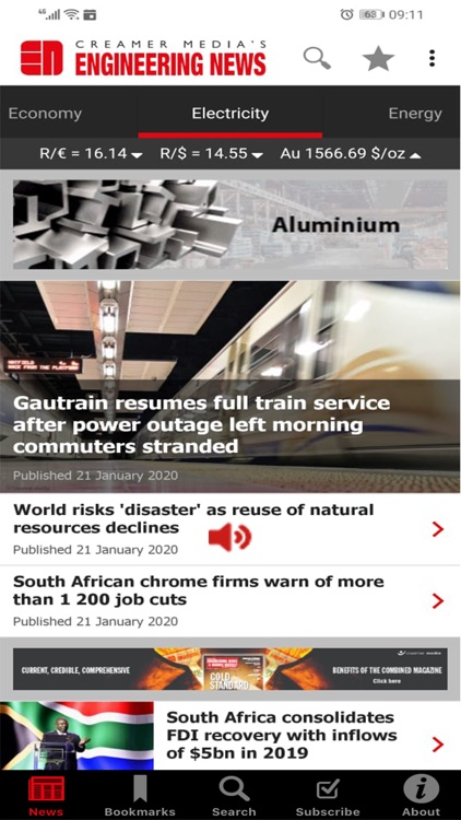 Creamer Media Engineering News screenshot-0