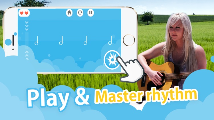 Beat the Rhythm - tap & learn