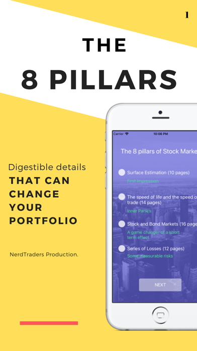 The 8 Pillars of Stock Market app image