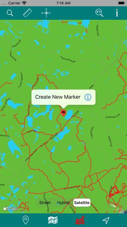 Superior National Forest – GPS screenshot-4