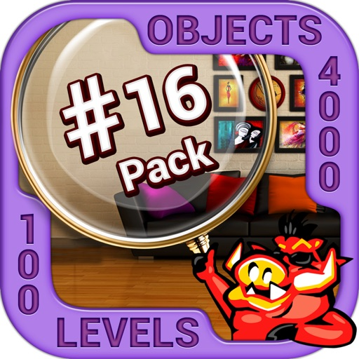 Pack 16 -10 in 1 Hidden Object