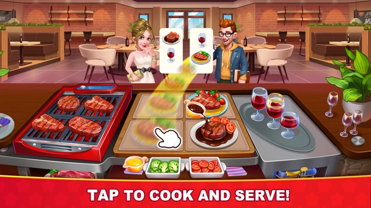 Cooking Hot Kitchen Crush screenshot-0