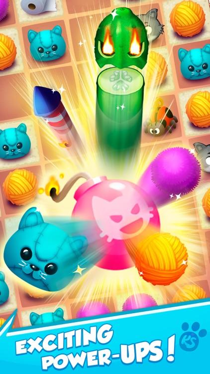 Kitty Snatch - Match 3 Cats screenshot-3