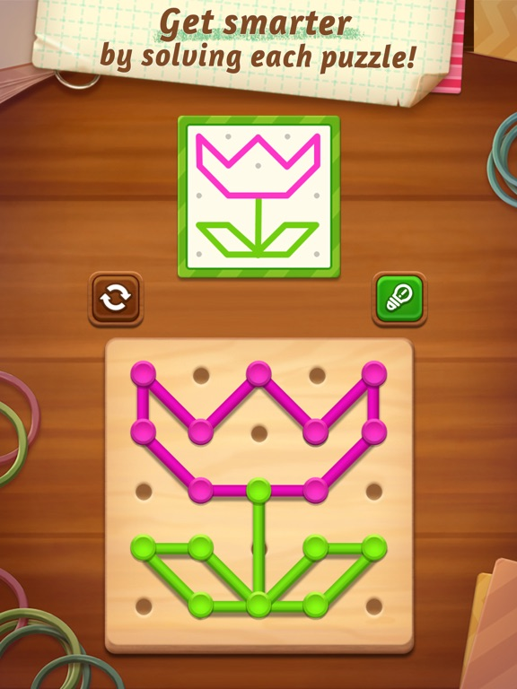 Line Puzzle: Color String Art screenshot 8