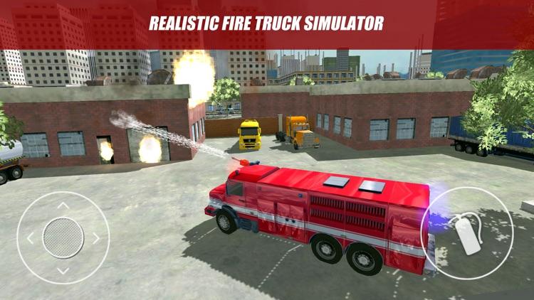 Firefighter and Fire Trucks 2 screenshot-3