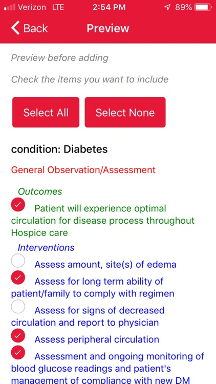 Red Book Hospice Care Planning screenshot-5