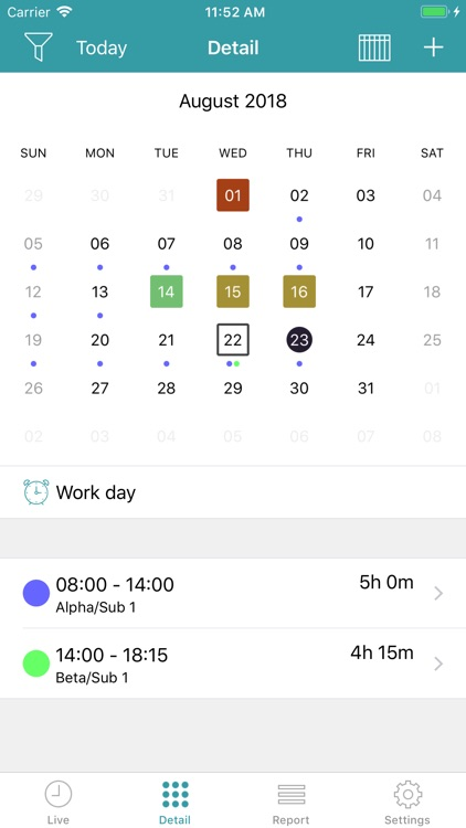 aXTimes Pro - time tracking