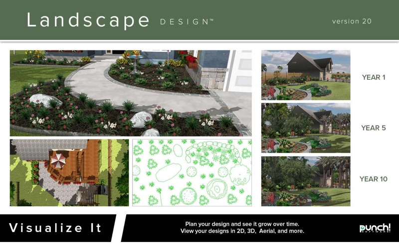 Punch! Landscape Design 20 for Mac