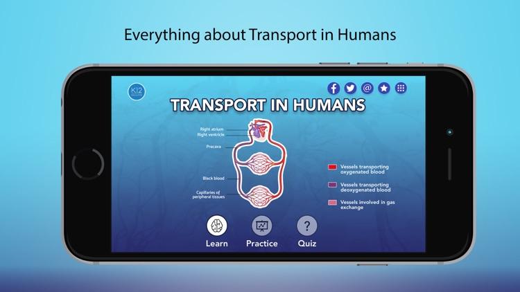 Transport in Humans- Biology