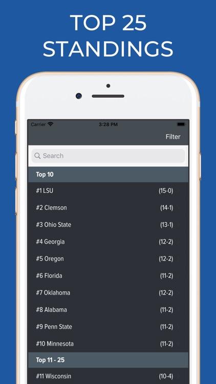Tennessee Football Schedules screenshot-5