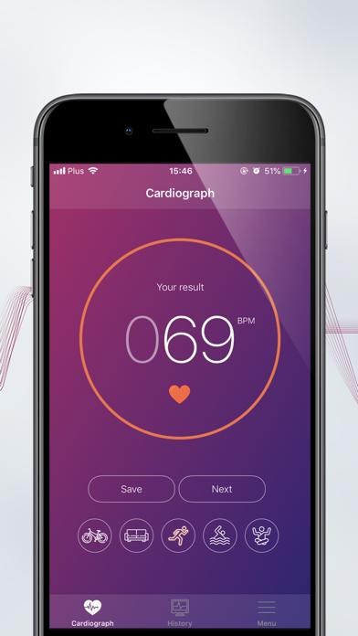 Cardiograph Instant Heart RateScreenshot of 5