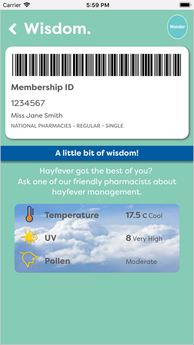 National Pharmacies screenshot two