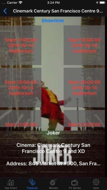 Movie Box & TV Show Listing screenshot-4