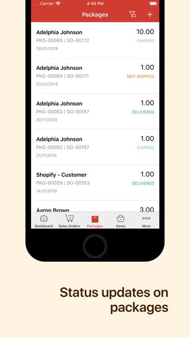 Inventory App - Zoho InventoryScreenshot of 4
