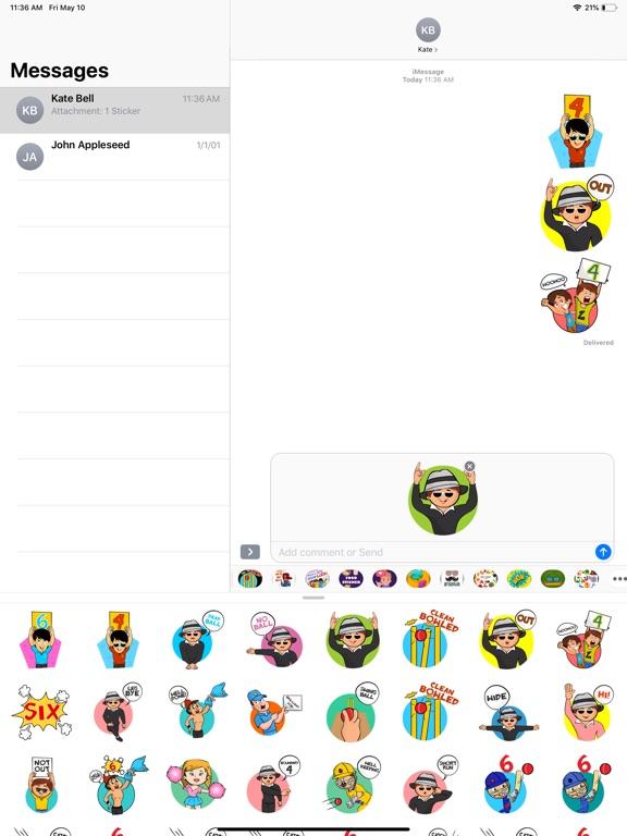 Cricket T20 Stickers screenshot 5