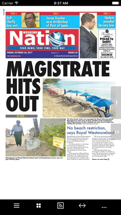 Barbados Nation News screenshot three