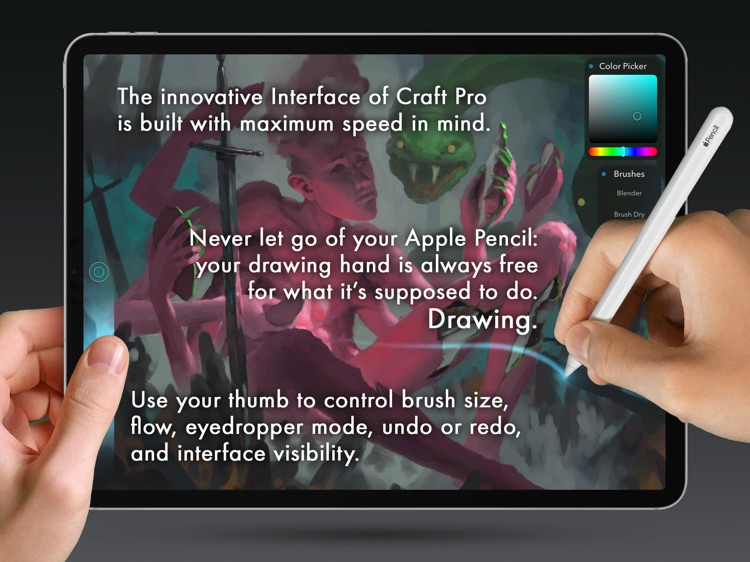 Craft Pro: Paint & Draw Fast
