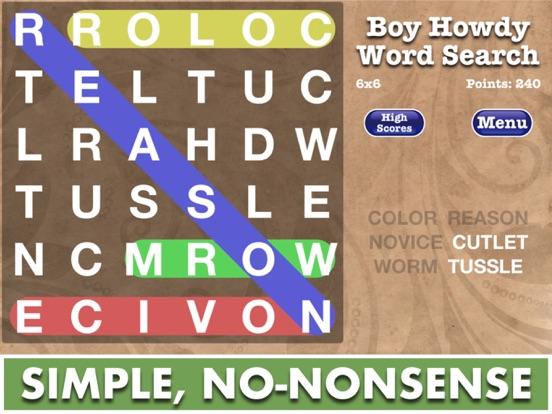 Word Search – Boy Howdy Technology