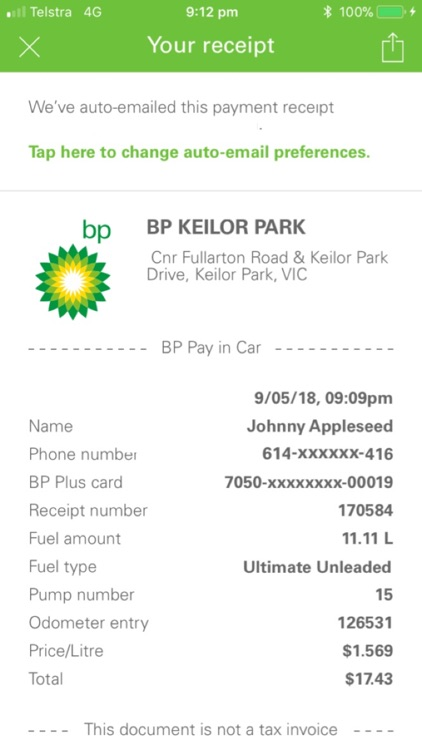 BPme for BP Plus Fuel Card screenshot-6