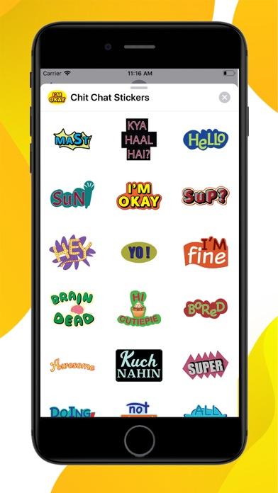Chit Chat Stickers screenshot 1