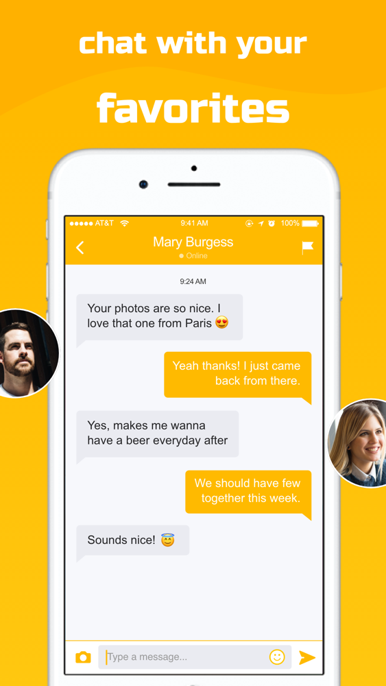 Yellow Rose - Dating App App for iPhone - Free Download